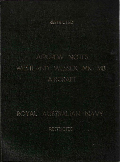 Flight Manual for the Westland Wessex