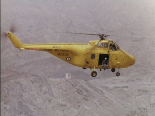 Flight Manual for the Westland Whirlwind helicopter
