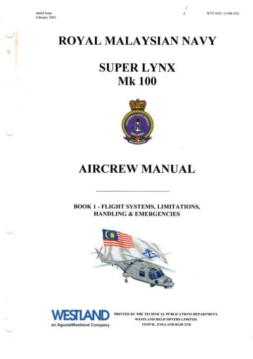 Flight Manual for the Westland Lynx