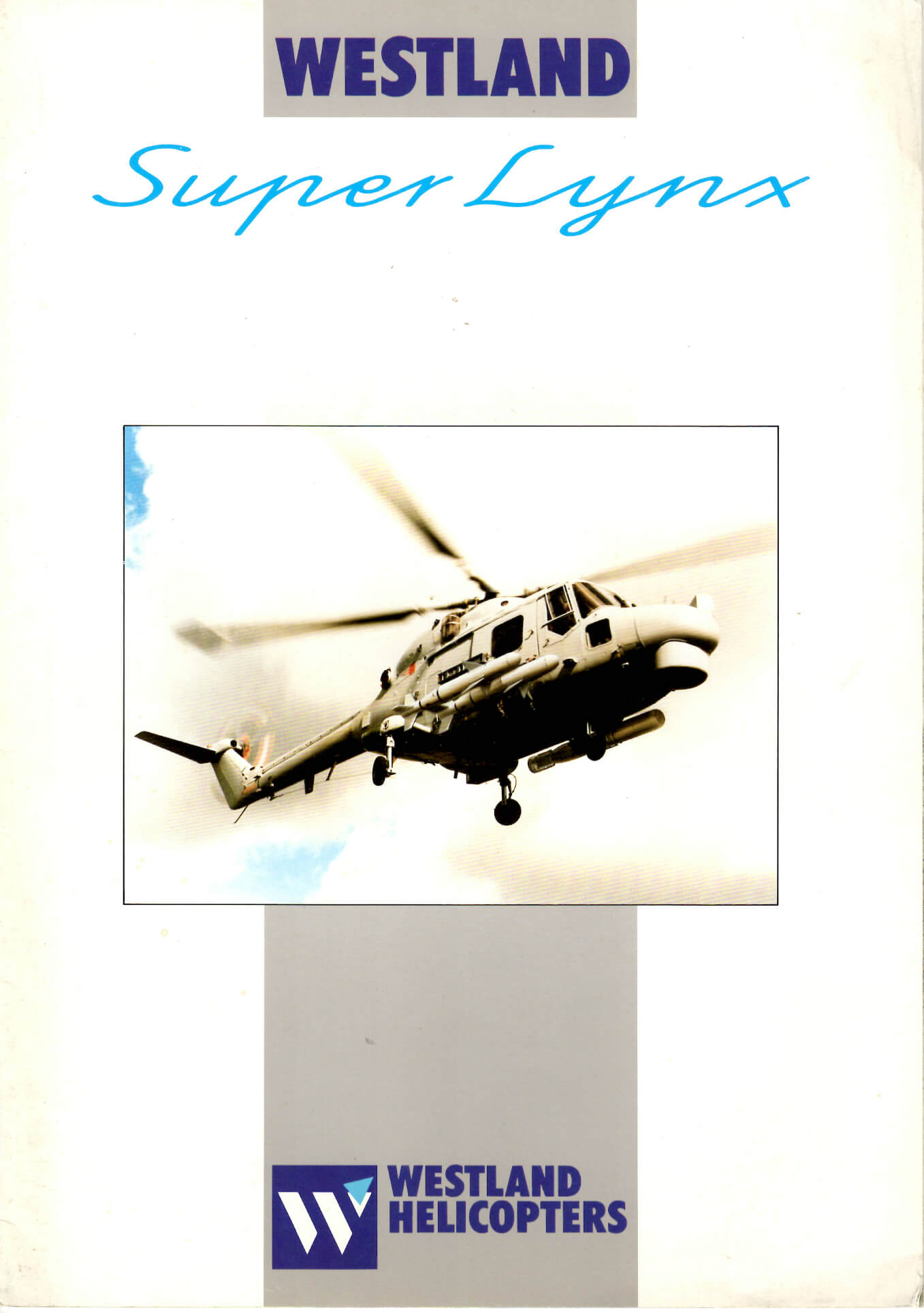 Flight Manual for the Westland Lynx