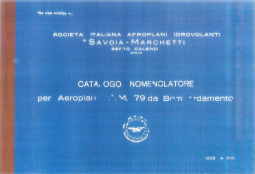 Flight Manual for the Savoia-Marchetti SM79 Sparviero