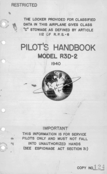 Flight Manual for the Douglas DC-5 R3D