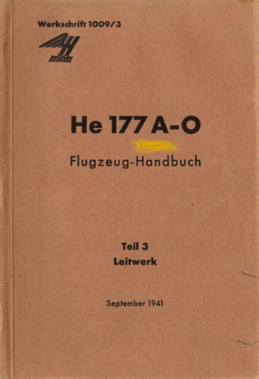 Flight Manual for the Heinkel He177