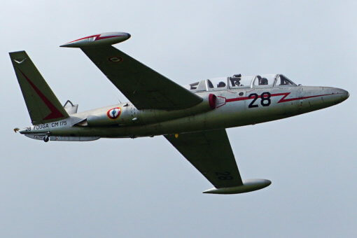 Flight Manual for the Potez Air Fouga CM170 Magister