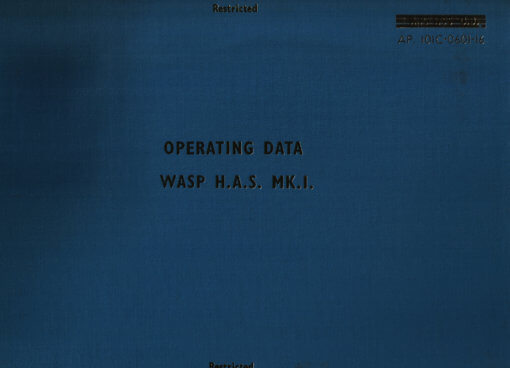 Flight Manual for the Westland Wasp