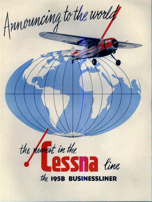 Flight Manual for the Cessna 190 and 195 LC-126