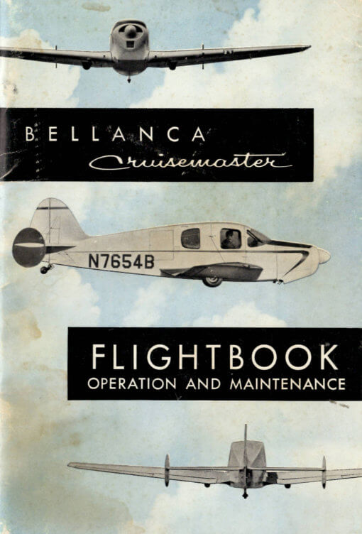 Flight Manual for the Bellanca Cruisemaster & Viking