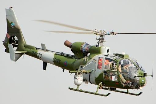 Flight Manual for the Aerospatiale Eurocopter Gazelle