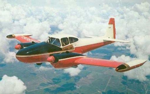 Flight Manual for the Camair 480 Twin Navion
