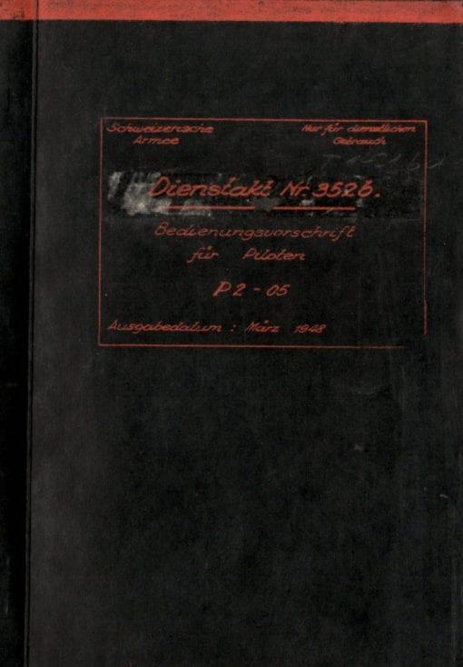 Flight Manual for the Pilatus P2