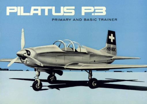 Flight Manual for the Pilatus P3