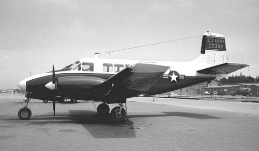 Flight Manual for the Beech L-23F Queen Air