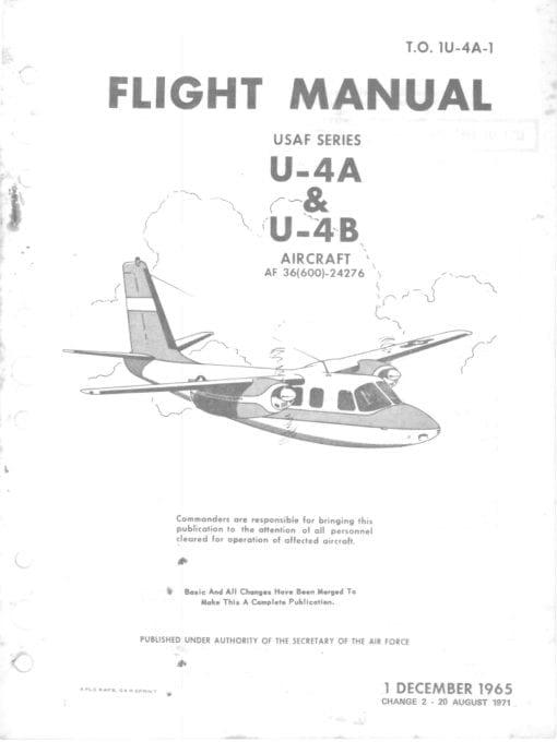 Flight Manual for the Aero Commander U-4 L-26