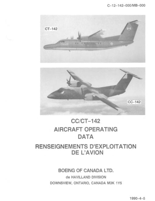 Flight Manual for the De Havilland Canada Dash 8