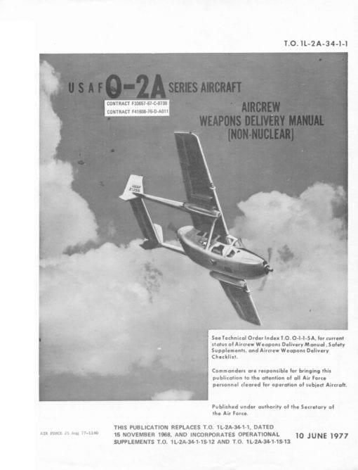 Flight Manual for the Cessna O-2 ( 337 Skymaster )